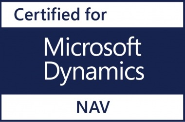 Certified for Microsoft Dynamics NAV 2018