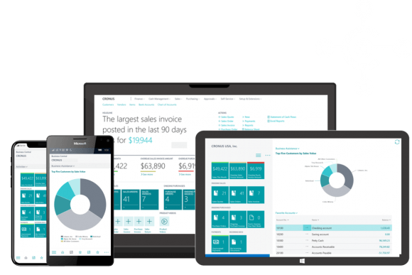 Microsoft Dynamics 365 Business Central - navitrans